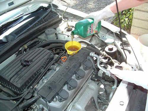 Oil Change For Honda Civic