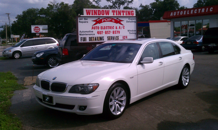 auto window tinting from pops auto electric