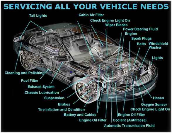 auto services and repairs from Pops Auto Electric & AC of